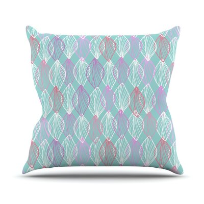 My Leaves Julia Grifol Throw Pillow Size: 26 H x 26 W x 4 D