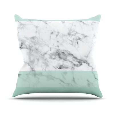 Marble Fade Throw Pillow Size: 26 H x 26 W x 4 D