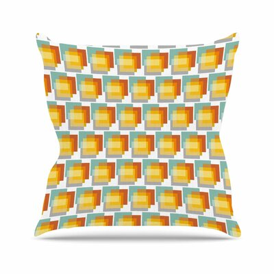 GEO 1 Juliana Motzko Throw Pillow Size: 26 H x 26 W x 4 D