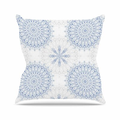 Mandalas Julia Grifol Throw Pillow Size: 20 H x 20 W x 4 D