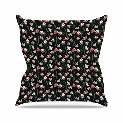 Lilies Field Mayacoa Studio Throw Pillow Size: 26 H x 26 W x 4 D