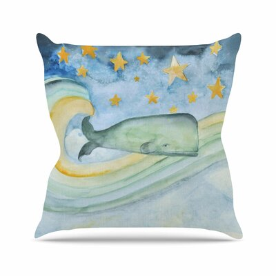 Swimming with the Stars Jennifer Rizzo Throw Pillow Size: 18 H x 18 W x 4 D