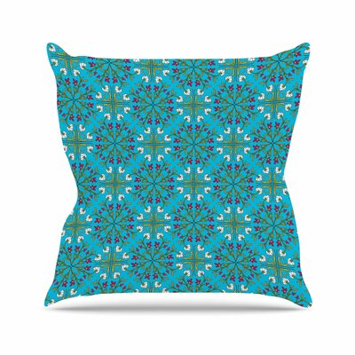 Moroccan Tile Mayacoa Studio Throw Pillow Size: 18 H x 18 W x 4 D