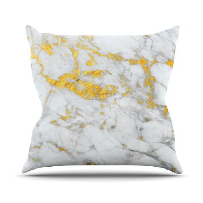 Flake Throw Pillow Size: 26 H x 26 W x 4 D