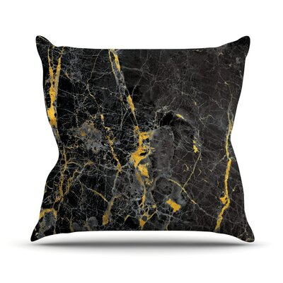 Fleck Marble Throw Pillow Size: 16 H x 16 W x 4 D