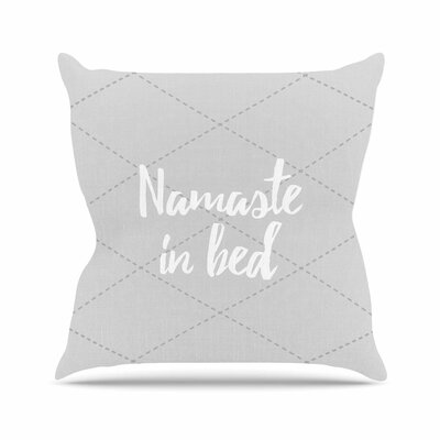 Namaste Size: 26 H x 26 W x 4 D, Color: Teal / White