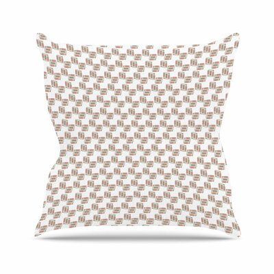 Geo 2 Juliana Motzko Throw Pillow Size: 16