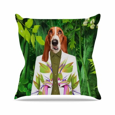 Into the Leaves N5 Natt Throw Pillow Size: 16 H x 16 W x 4 D