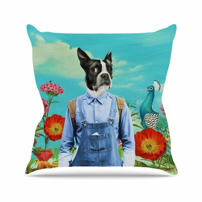 Family Portrait N3 Natt Throw Pillow Size: 16 H x 16 W x 4 D