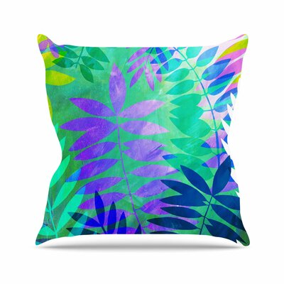 Jungle Jessica Wilde Throw Pillow Size: 20 H x 20 W x 4 D