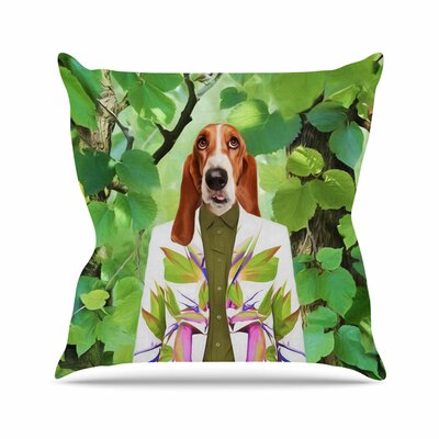 Into the Leaves N6 Natt Throw Pillow Size: 20 H x 20 W x 4 D
