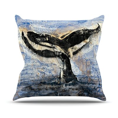 Whale Tail Josh Serafin Throw Pillow