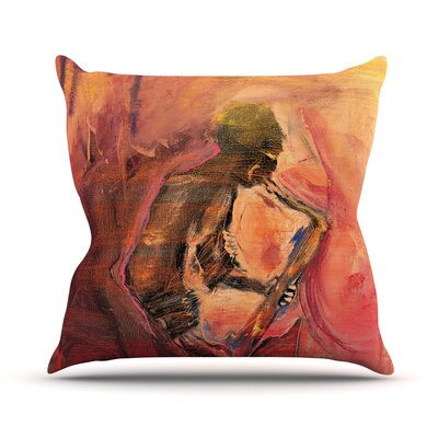 Catch the Wind Josh Serafin Throw Pillow