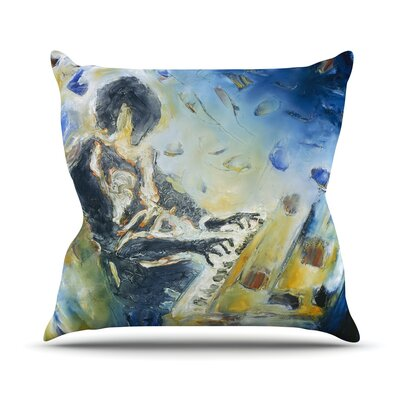 Riders on the Storm Josh Serafin Throw Pillow