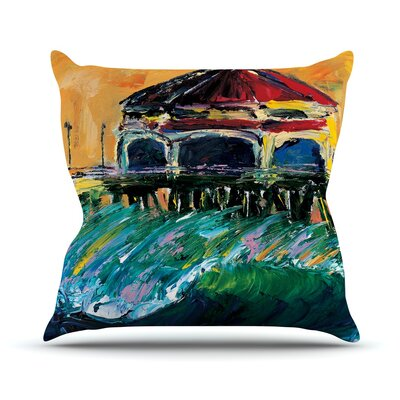 Offshore Beauty Josh Serafin Throw Pillow