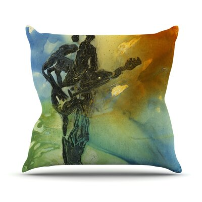 Rhythm Josh Serafin Throw Pillow