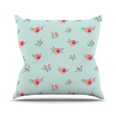 Happy Easter II Throw Pillow Size: 18