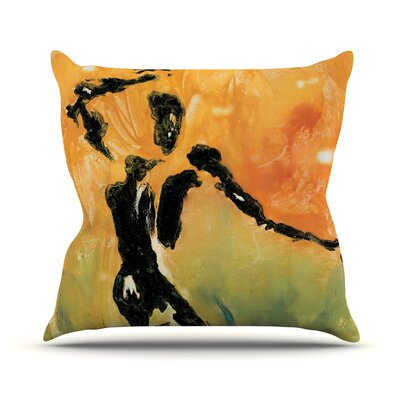 Hangin 5 Josh Serafin Throw Pillow