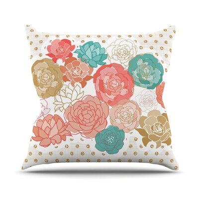 Spring Florals Pellerina Design Throw Pillow