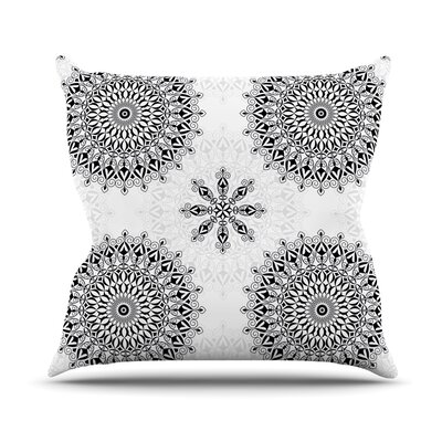 Mandala Julia Grifol Throw Pillow