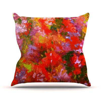 Summer Garden Jeff Ferst Throw Pillow