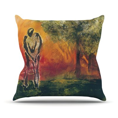 Par by Josh Serafin Throw Pillow Size: 18 H x 18 W