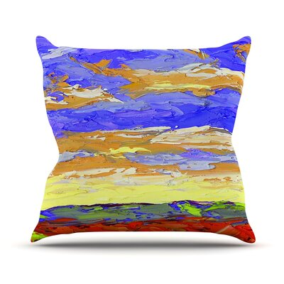 After the Storm Jeff Ferst Throw Pillow