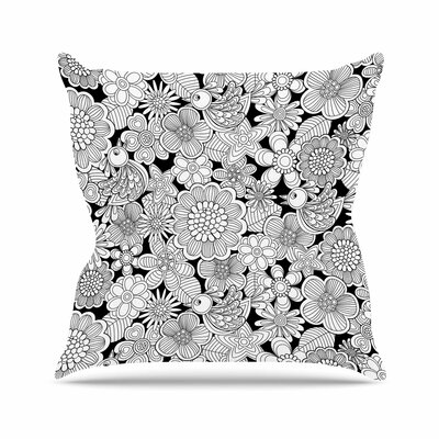 Welcome Birds Julia Grifol Throw Pillow