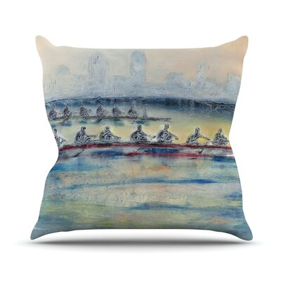 Crew Josh Serafin Throw Pillow