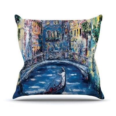 Venice Josh Serafin Throw Pillow