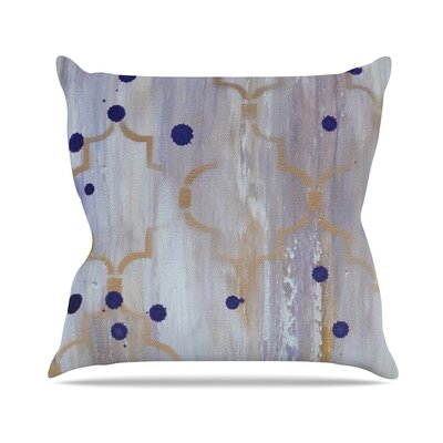 Lush Kira Crees Throw Pillow
