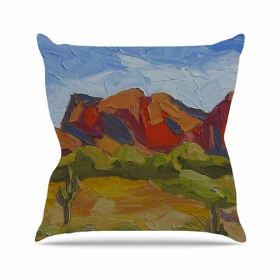 Arizona Jeff Ferst Throw Pillow