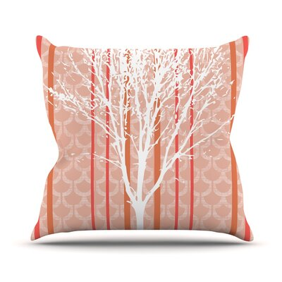 Spring Tree Pellerina Design Throw Pillow