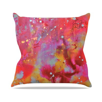 Falling Paradise Kira Crees Throw Pillow