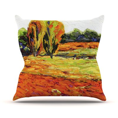 Summer Breeze Jeff Ferst Throw Pillow