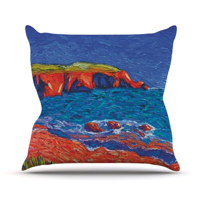 Sea Shore Jeff Ferst Throw Pillow