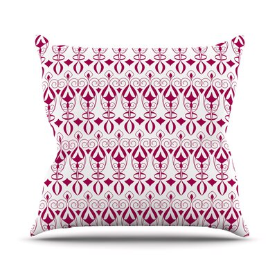 Warm Deco Julia Grifol Throw Pillow