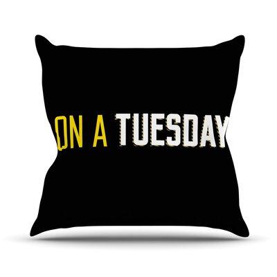 Tuesday Throw Pillow