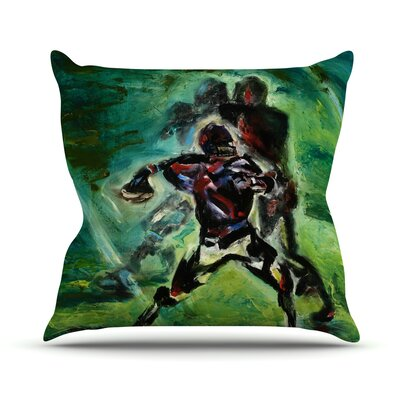 1st & 10 Josh Serafin Throw Pillow