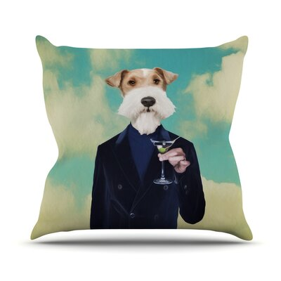 Passenger 8F by Natt Throw Pillow Size: 16 H x 16 W x 3 D