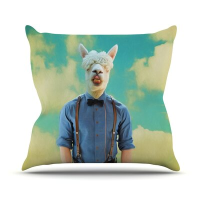 Passenger 19H by Natt Throw Pillow Size: 18 H x 18 W x 3 D