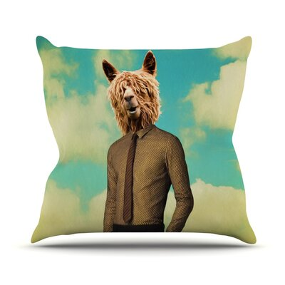 Passenger 11A by Natt Throw Pillow Size: 26 H x 26 W x 5 D