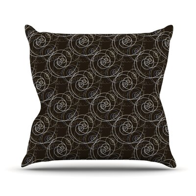 Nautical Breeze Swirls Mydeas Throw Pillow