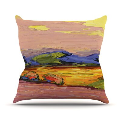 Pastoral View Jeff Ferst Throw Pillow