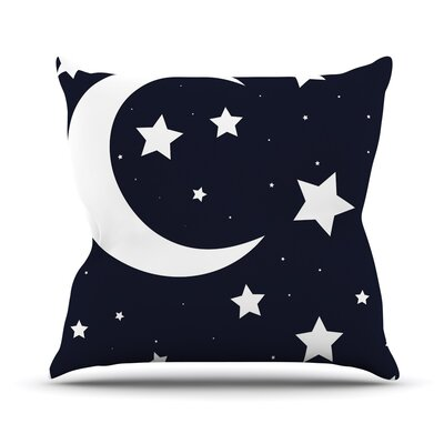 Moon & Stars Throw Pillow