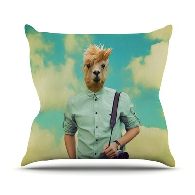 Passenger 1B by Natt Throw Pillow Size: 26 H x 26 W x 5 D