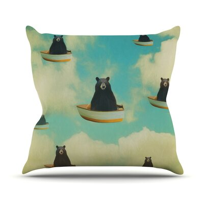 Bears by Natt Throw Pillow Size: 16 H x 16 W x 3 D