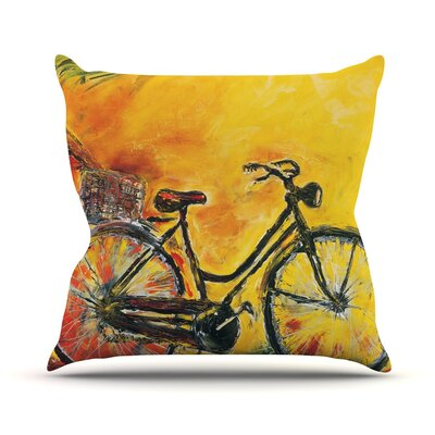 To Go Josh Serafin Throw Pillow