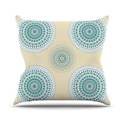 Soft Mandalas Julia Grifol Throw Pillow