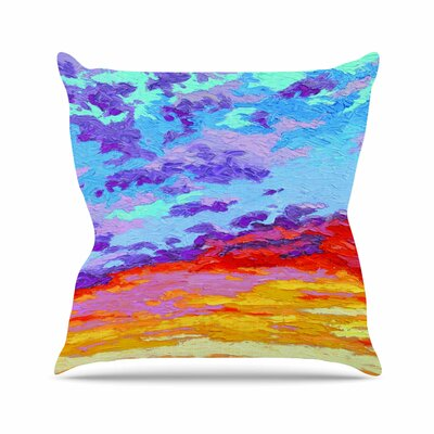 Dancing Clouds Jeff Ferst Throw Pillow